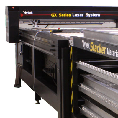 The Vytek GX large format CO2 laser cutting system